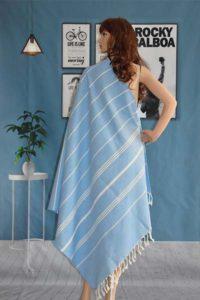 YE TURKISH PESHTEMAL TOWELS TURKISH TOWELS FOR BEACHES COTTON BATH TOWEL